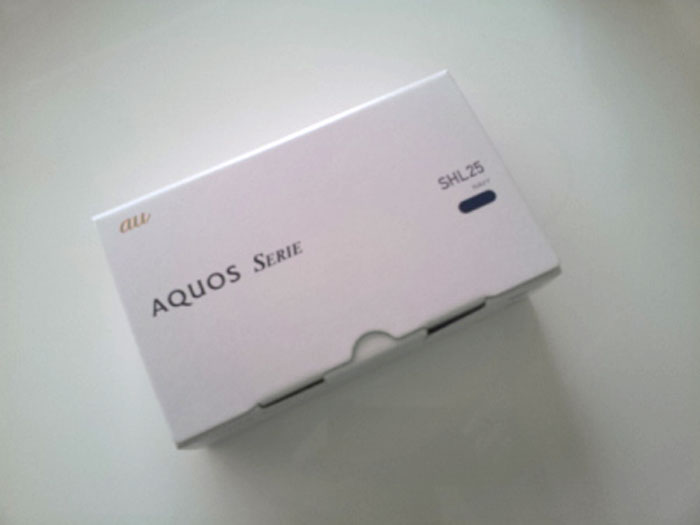 AQUOS SERIE SHL25